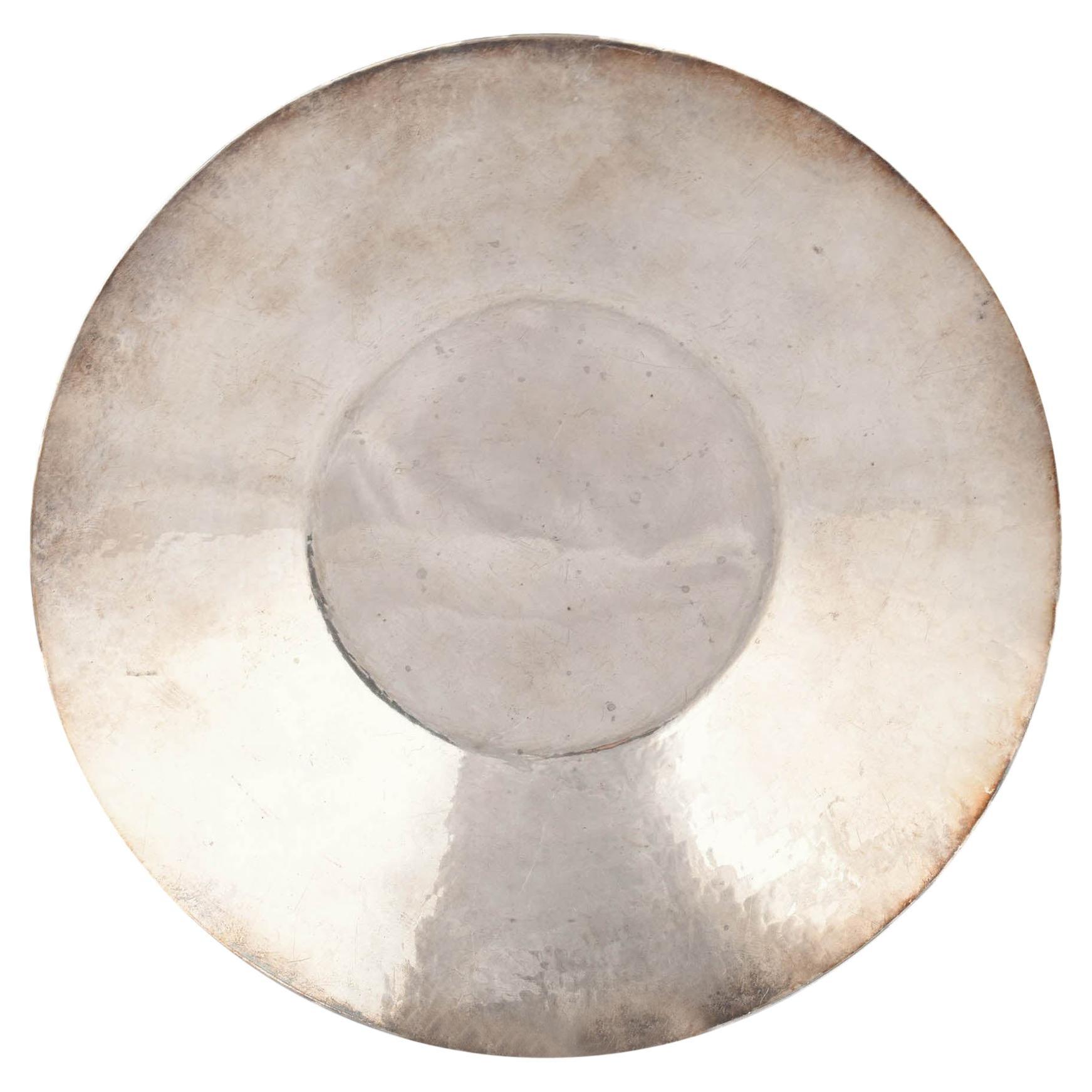 Vintage Art Deco Silver Plate by Rolf Koolman, Germany, 1920s