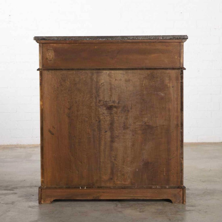Vintage Art Deco Style French Cupboard Cabinet by B. R. Paris In Good Condition For Sale In LOS ANGELES, CA