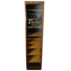 Vintage Art Deco Tall Haberdashery Dunlop Sports Cabinet