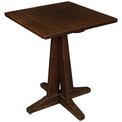 Vintage Arts & Crafts Style Bistro Table from France, 1960s