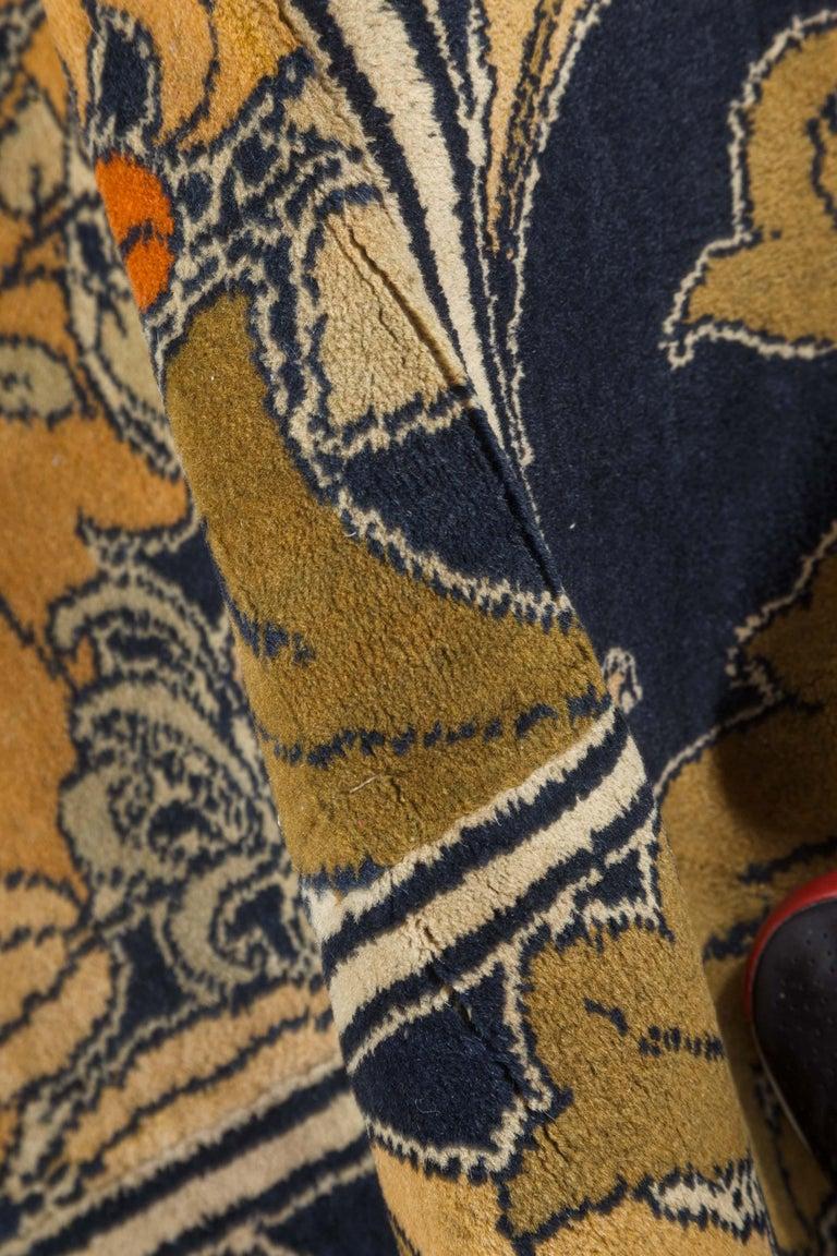 Vintage Arts & Crafts Voysey rug Size: 7'5