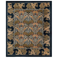 Vintage Arts & Crafts Voysey Rug