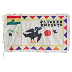 Vintage Asafo Flag