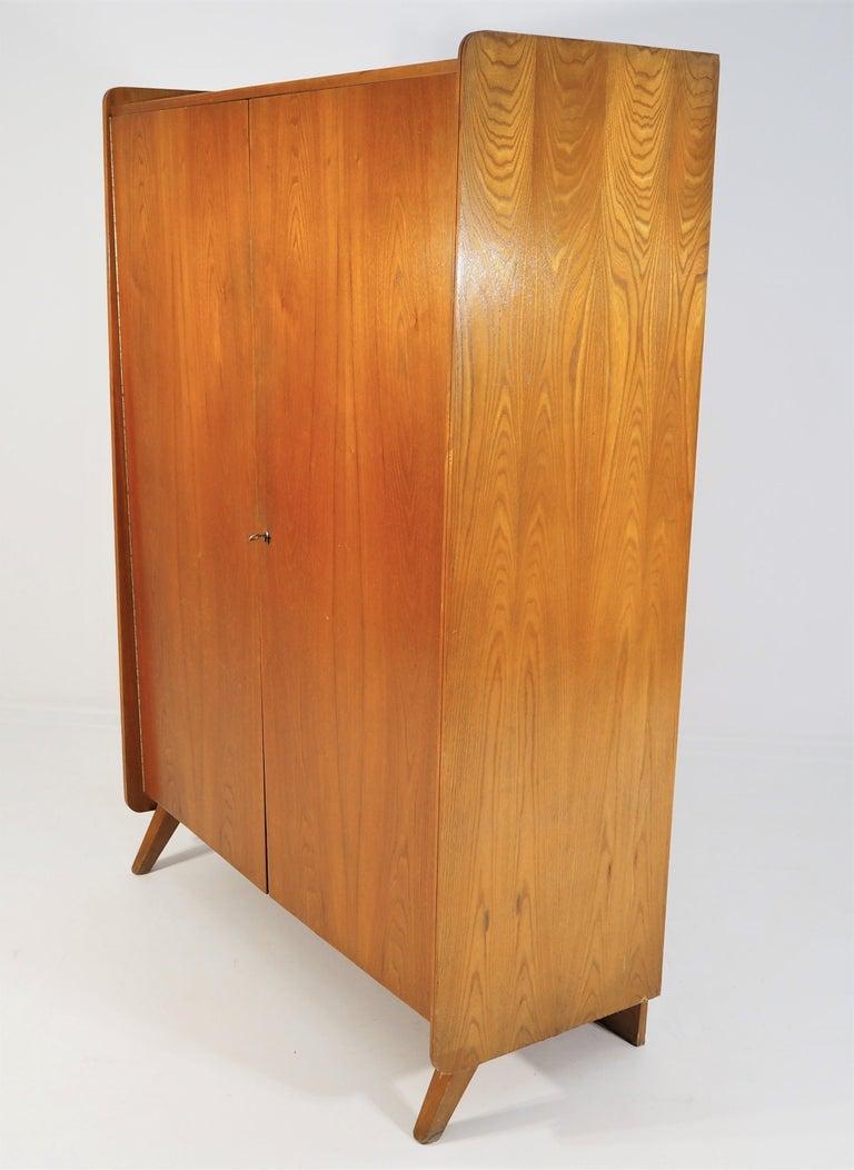 Vintage Ash Wardrobe Tatra, circa 1960s For Sale 3
