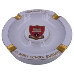 Vintage Ashtray US Oberammergau US Army School
