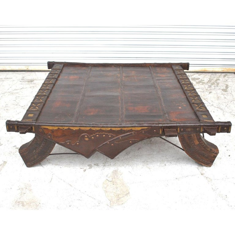 Vintage Asian Bullock Cart Coffee Table For Sale At 1stdibs