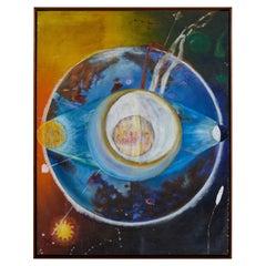 Vintage Astral Painting