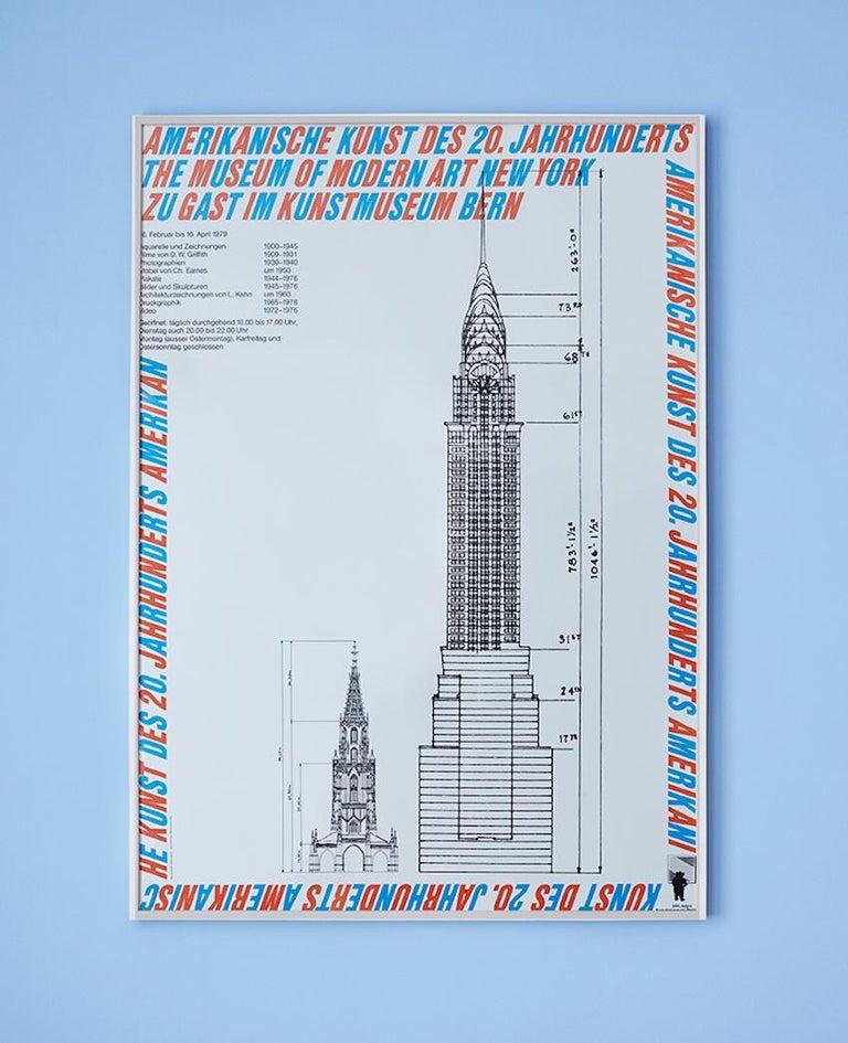 Atelier Jacquet Switzerland, 1979  Vintage exhibition poster.   Measures: H 130 x W 92 cm.