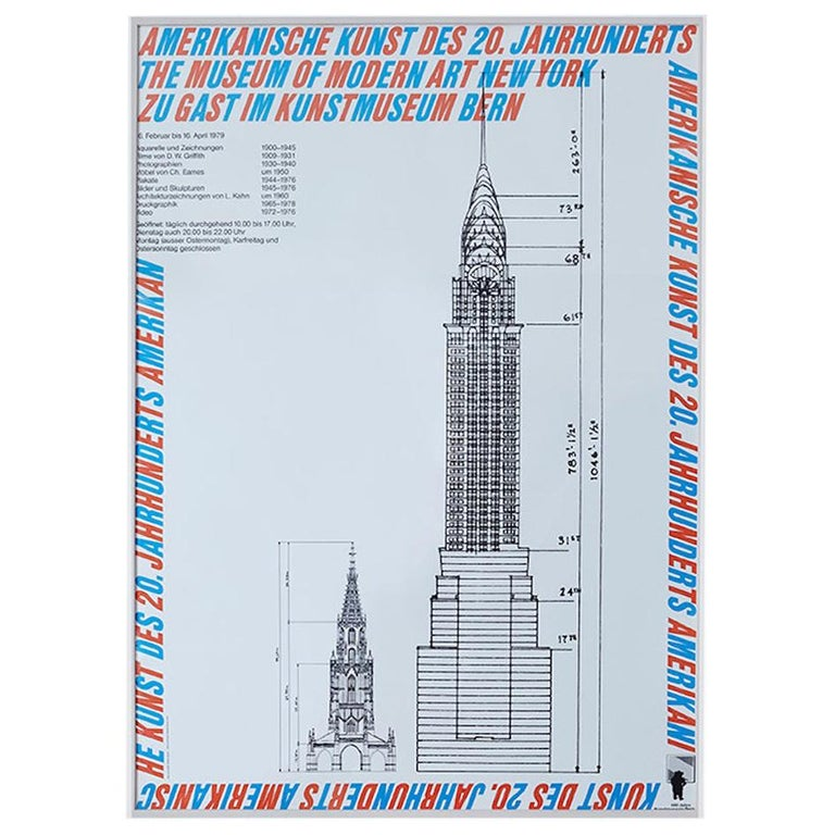 Vintage Atelier Jacquet Exhibition Poster from Kunstmuseum Bern, Switzerland1979 For Sale