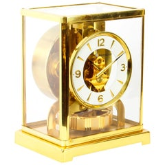 Vintage Atmos Jaeger le Coultre Mantle Clock, 1970