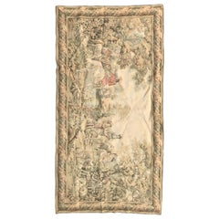 Vintage Aubusson Style French Tapestry
