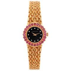 Vintage Audemars Piguet 18 Karat Yellow Gold Ladies Watch