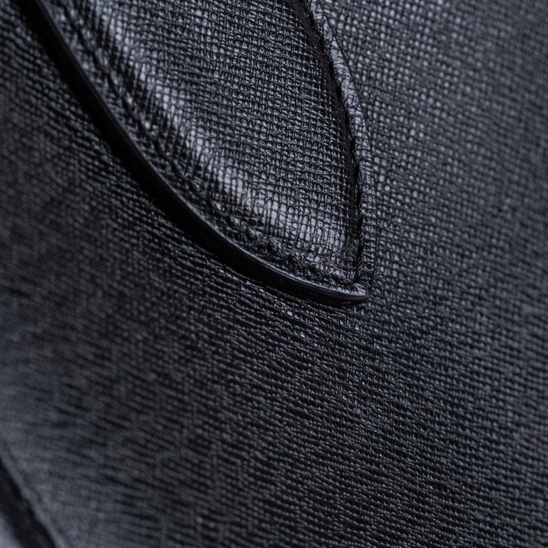 Vintage Authentic Alexander Mcqueen Black Leather Heroine Handbag ITALY MEDIUM  For Sale 7