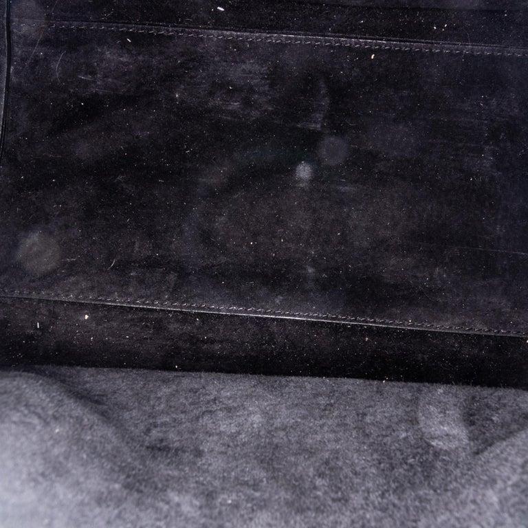 Vintage Authentic Alexander Mcqueen Black Leather Heroine Handbag ITALY MEDIUM  For Sale 1