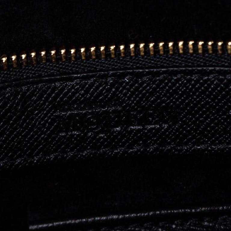Vintage Authentic Alexander Mcqueen Black Leather Heroine Handbag ITALY MEDIUM  For Sale 3