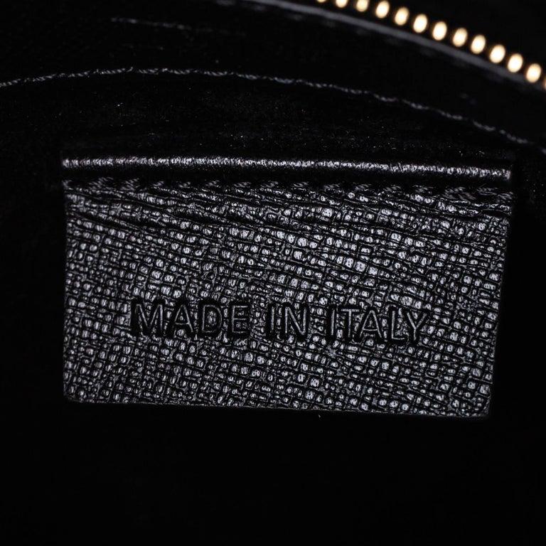 Vintage Authentic Alexander Mcqueen Black Leather Heroine Handbag ITALY MEDIUM  For Sale 4
