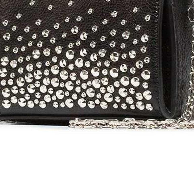 Women's Vintage Authentic Alexander Mcqueen Leather Studded Chain Mini Box Bag MINI  For Sale