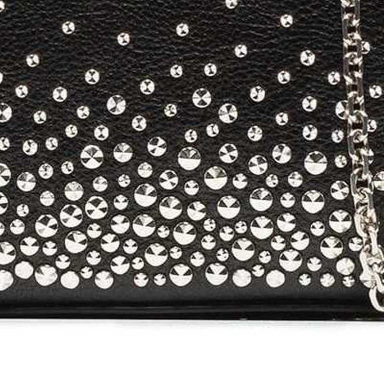 Vintage Authentic Alexander Mcqueen Leather Studded Chain Mini Box Bag MINI  For Sale 3