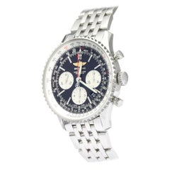 Vintage Authentic Breitling Navitimer Automatic AB0120 w Box Authenticity Card