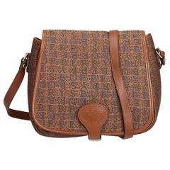 8cc43ecd01e Vintage Authentic Burberry Brown Crossbody Bag United Kingdom SMALL