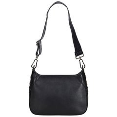 Vintage Authentic Burberry Leather Shoulder Bag United Kingdom w Dust Bag SMALL
