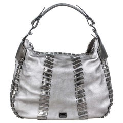 Silver Shoulder Bags