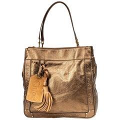Vintage Authentic Chloe Leather Eden Tote Bag w Dust Bag Authenticity Card