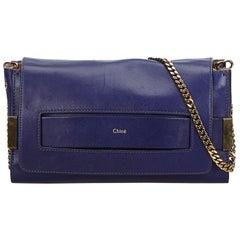 Vintage Authentic Chloe Leather Elle Crossbody Bag Italy w Dust Bag MEDIUM