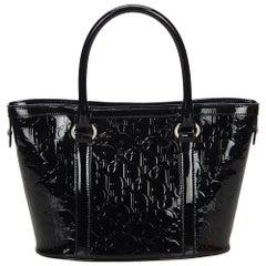 Vintage Authentic Dior Oblique Handbag w Dust Bag Authenticity Card MEDIUM