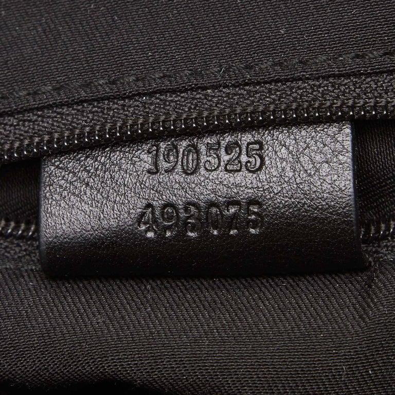Vintage Authentic Gucci Black Patent Leather Abbey D-Ring Handbag Italy MEDIUM  3