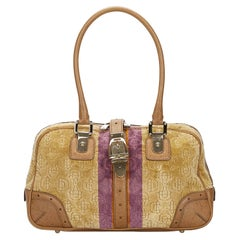 Vintage Authentic Gucci Brown Horsebit Shoulder Bag Italy w MEDIUM