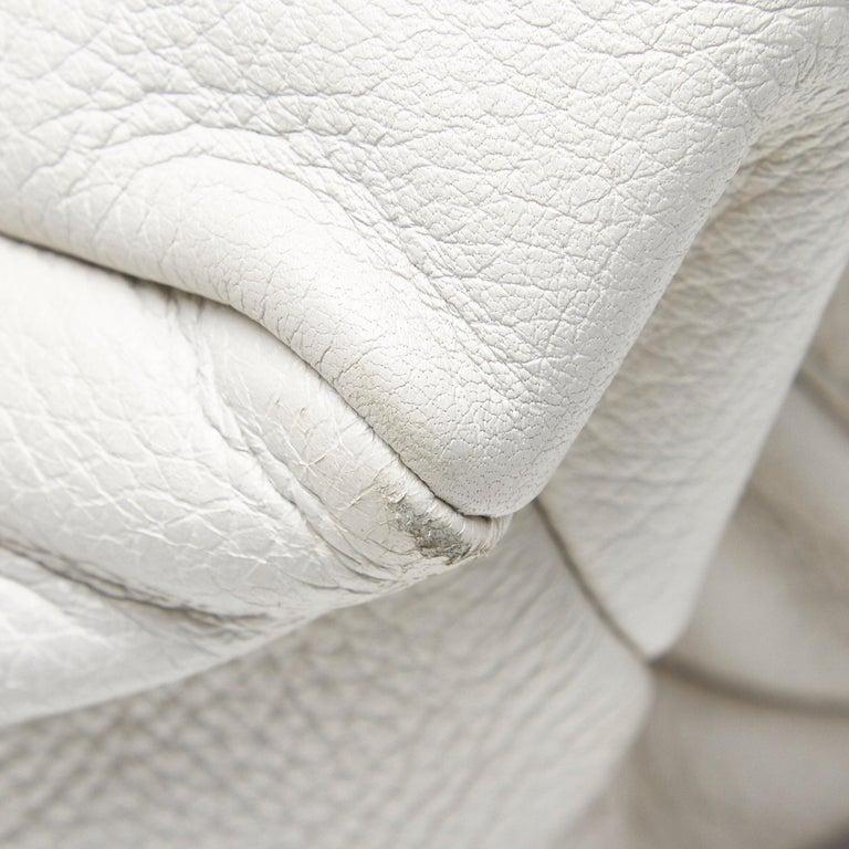 Vintage Authentic Gucci White Leather Jungle Shoulder Bag ITALY MEDIUM  6