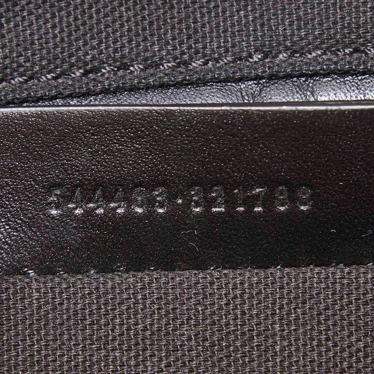 Vintage Authentic Leather Skull Padlock Studded Tote Bag w Padlock Key  For Sale 2