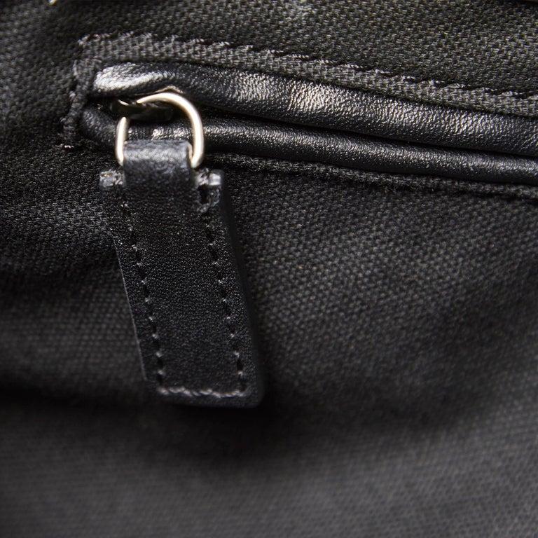 Vintage Authentic Leather Skull Padlock Studded Tote Bag w Padlock Key  For Sale 3