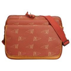 Vintage Authentic Louis Vuitton Americas Cup Calvi Messenger Bag France MEDIUM