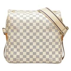 Vintage Authentic Louis Vuitton Azur Naviglio France w Dust Bag Box MEDIUM