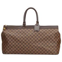 Vintage Authentic Louis Vuitton Brown Ebene Greenwich GM France w Padlock LARGE