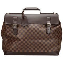 Vintage Authentic Louis Vuitton Brown Ebene West End PM France SMALL
