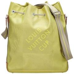Vintage Authentic Louis Vuitton Damier Geant LV Cup Volunteer France LARGE