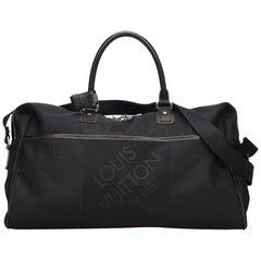 Vintage Authentic Louis Vuitton Geant Albatross Duffel Bag w Padlock Key LARGE