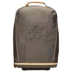 Vintage Authentic Louis Vuitton Geant Conquerant 55 France w Dust Bag LARGE