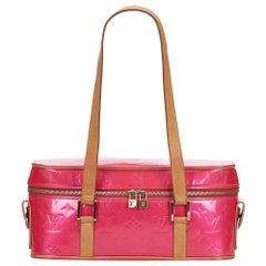 Vintage Authentic Louis Vuitton Pink Sullivan Horizontal GM France LARGE