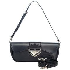 Vintage Authentic Louis Vuitton Pochette Montaigne France w Dust Bag MEDIUM