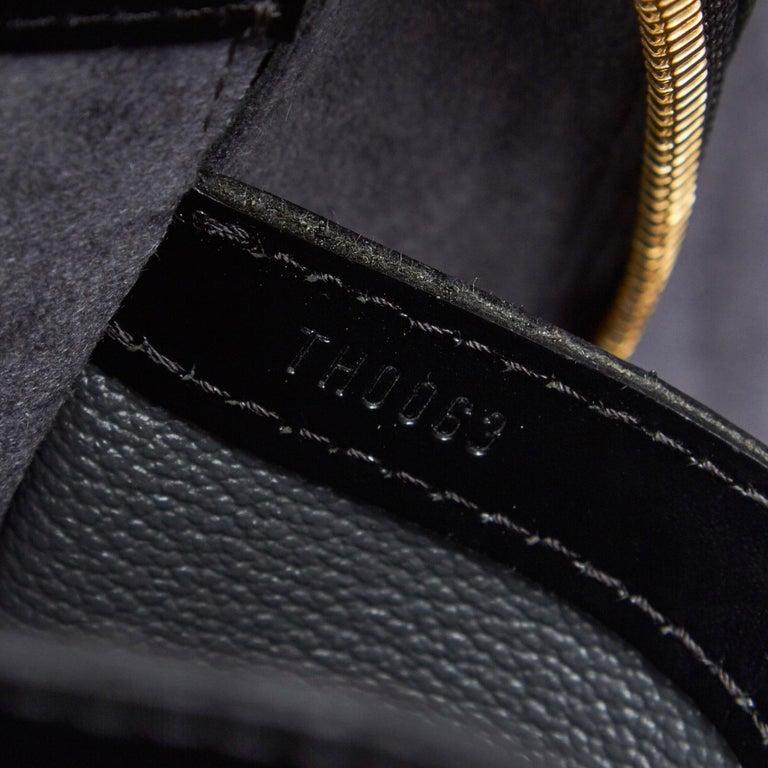 Vintage Authentic Louis Vuitton Sorbonne France w Dust Bag Padlock Key LARGE  For Sale 2