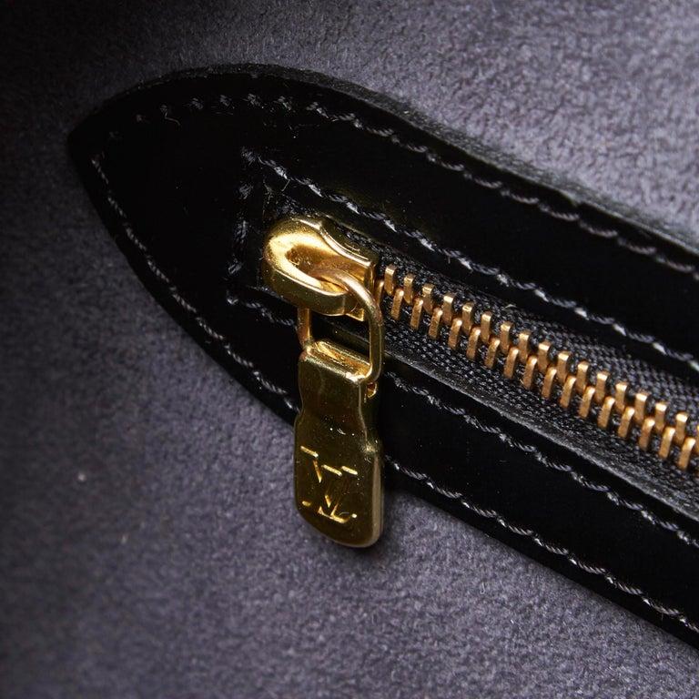 Vintage Authentic Louis Vuitton Sorbonne France w Dust Bag Padlock Key LARGE  For Sale 3