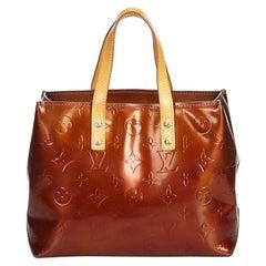 Vintage Authentic Louis Vuitton Vernis Leather Reade PM France Dust Bag SMALL