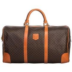 Vintage Authentic Macadam Duffle Bag w Padlock Padlock Padlock Padlock Key