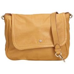 Vintage Authentic Mulberry Leather Crossbody Bag w Dust Bag MEDIUM
