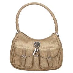 Vintage Authentic Oblique Lovely Shoulder Bag w Dust Bag Authenticity Card