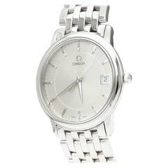 Vintage Authentic Omega Silver De Ville Quartz 4510 31 Switzerland SMALL